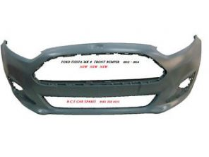 FORD FIESTA MK 8  FRONT BUMPER  2013 - 2014  FACELIFT  NEW  NEW